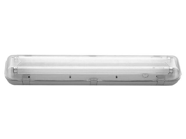 Oprawa świetlówkowa z kloszem hermetyczna ABS/PC HERM218B Apollo Lighting