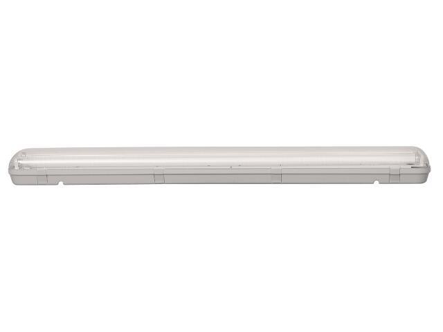 Oprawa świetlówkowa z kloszem TERMUS Practic Line 2x36W T8 230V IP65 EVG Lena Lighting