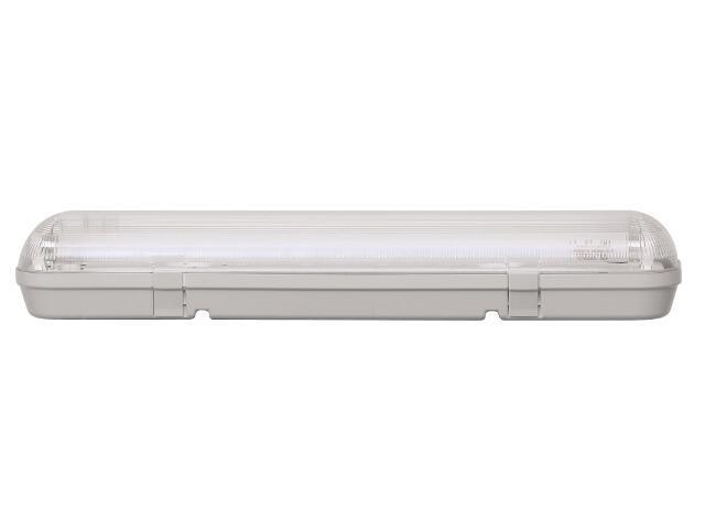 Oprawa świetlówkowa z kloszem CODAR 2x36W T8 230V PC IP65 EVG Lena Lighting