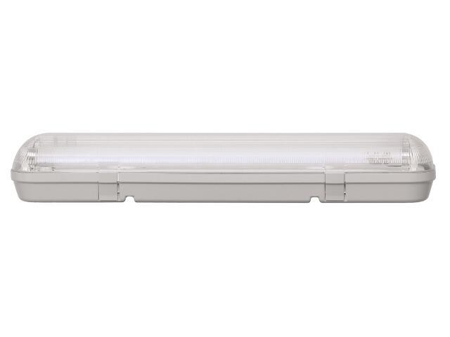 Oprawa świetlówkowa z kloszem CODAR 1x36W T8 230V PC IP65 EVG Lena Lighting