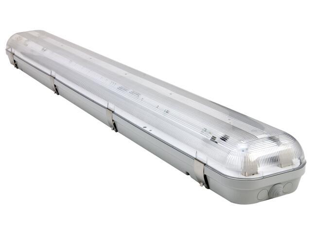 Oprawa świetlówkowa z kloszem CODAR 1x58W T8 230V PC IP65 EVG Lena Lighting