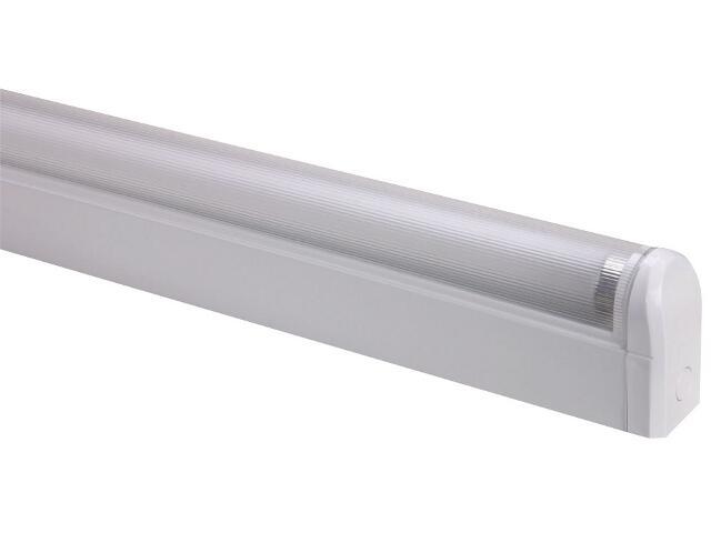 Oprawa świetlówkowa z kloszem SPECTO 18W KVG klosz pryzmatyczny Lena Lighting