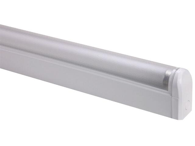Oprawa świetlówkowa z kloszem SPECTO 58W KVG klosz pryzmatyczny Lena Lighting