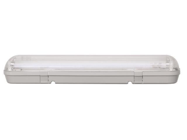 Oprawa świetlówkowa z kloszem CODAR 2x24W T5 230V IP65 Lena Lighting