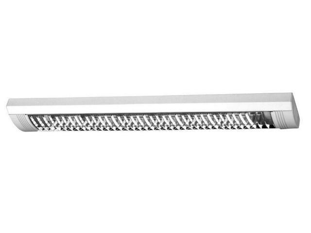 Oprawa świetlówkowa z kloszem SOCON T8 1x18W IP22 OS070143 Skan