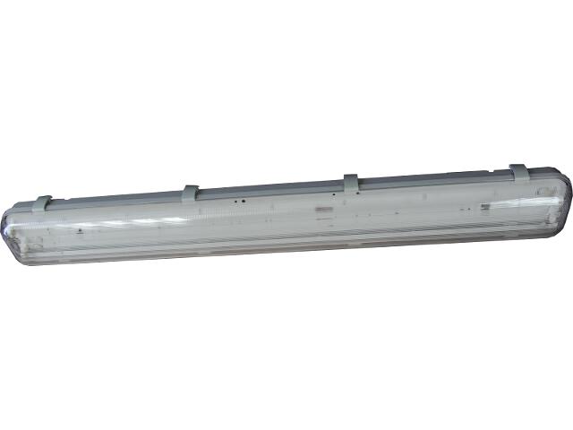 Oprawa świetlówkowa z kloszem hermetyczna FLUX 1x36W IP65 OS100032 Skan