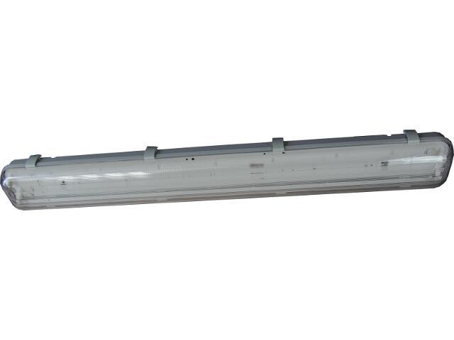 Oprawa świetlówkowa z kloszem hermetyczna FLUX 1x18W IP65 OS100033 Skan
