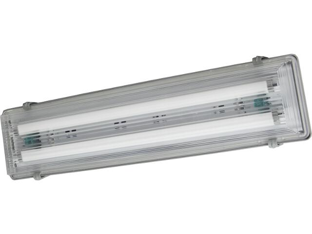 Oprawa świetlówkowa z kloszem hermetyczna FLUX 2x18W IP65 OS100034 Skan