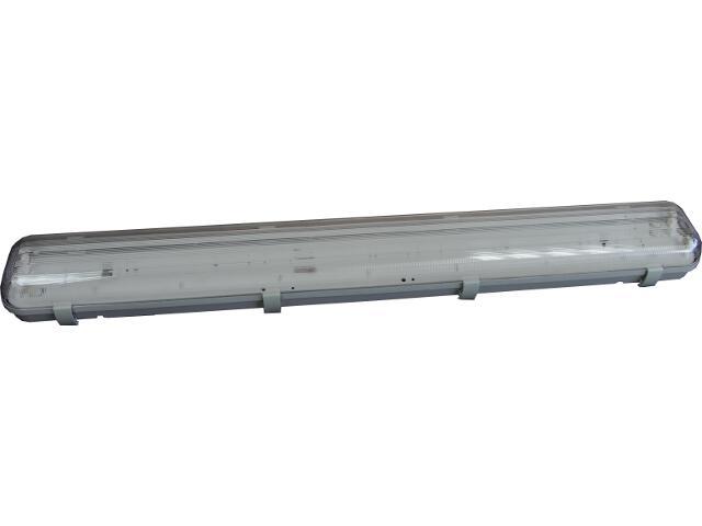 Oprawa świetlówkowa z kloszem hermetyczna FLUX 2x36W IP65 OS130263 Skan