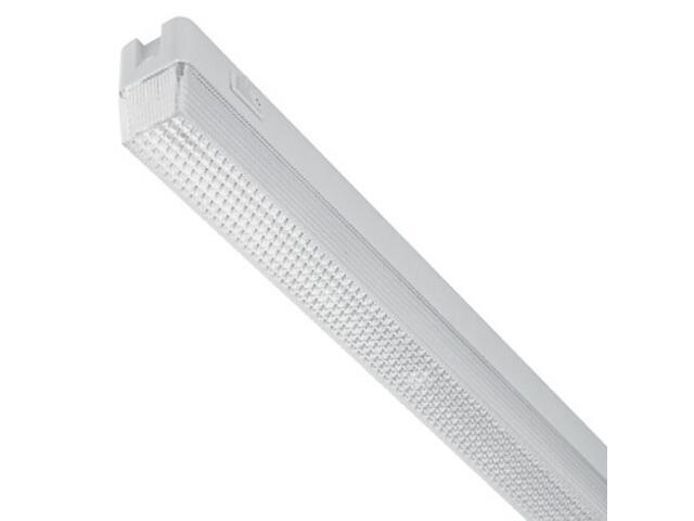 Oprawa świetlówkowa z kloszem LIDO OS-18 1x8W biała Elgo