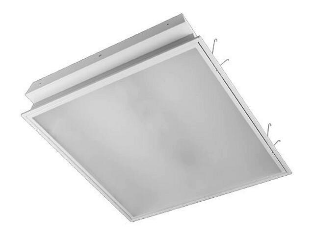 Oprawa świetlówkowa z kloszem ELECTRA plex OS-418w 4x18W klosz mleczny biały Elgo