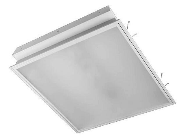 Oprawa świetlówkowa z kloszem ELECTRA plex OS-418 4x18W klosz mleczny biały Elgo