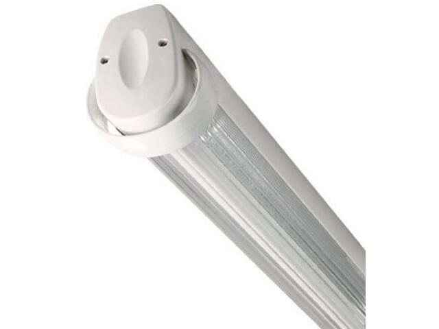 Oprawa świetlówkowa z kloszem GAMA T8 diffuser ONC-236 2x236W biała Elgo