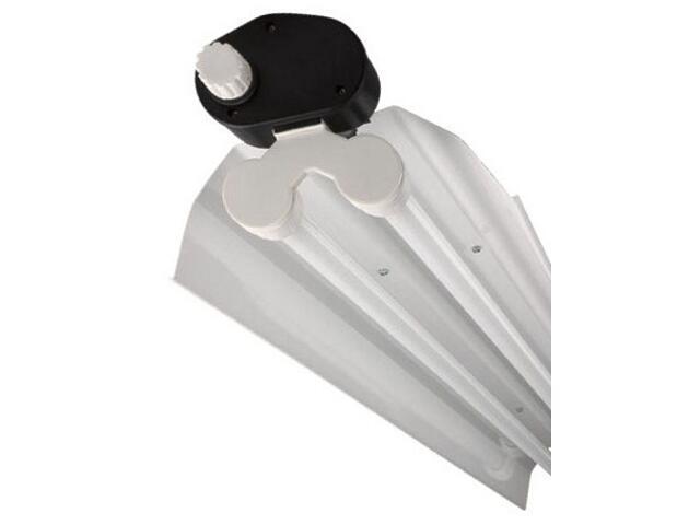 Belka świetlówkowa DUST reflector OPFb-236 2x36W z kompensacją biała Elgo