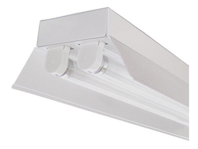 Belka świetlówkowa RIGA OSFa-218 2x18W z kompensacją odbłyśnik biały Elgo