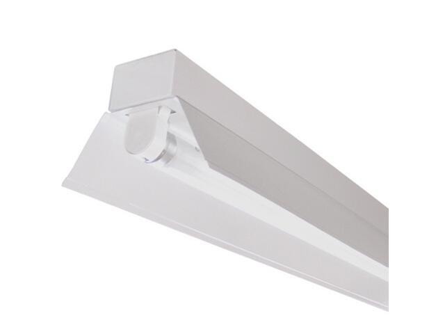 Belka świetlówkowa RIGA OSFa-158 1x58W z kompensacją odbłyśnik biały Elgo
