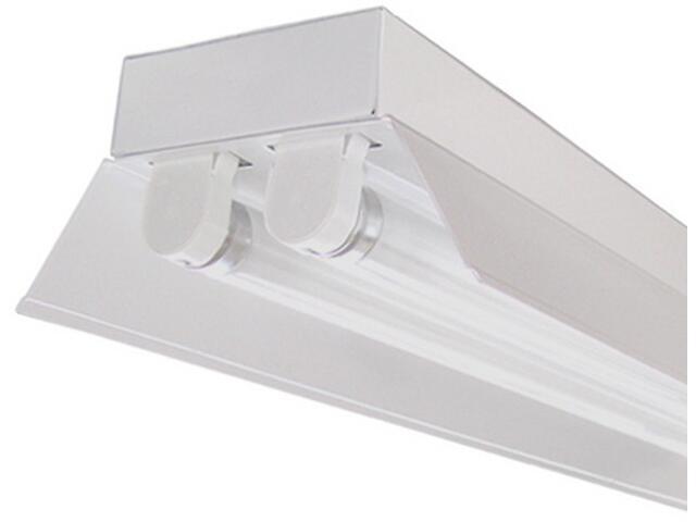Belka świetlówkowa RIGA OSFa-258 2x58W z kompensacją odbłyśnik biały Elgo