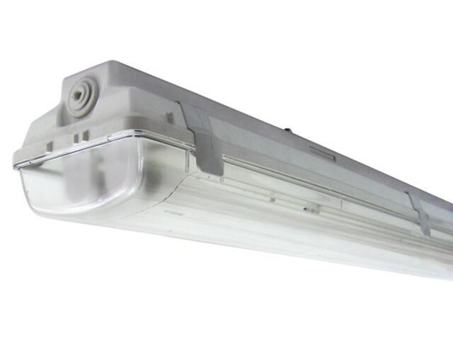 Belka świetlówkowa DUST 118TM 1x18W szara Elgo