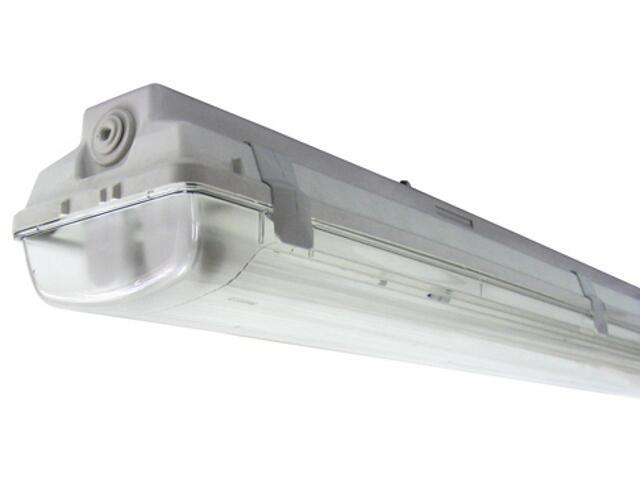 Belka świetlówkowa DUST 118TE 1x18W szara Elgo