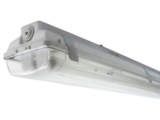 Belka świetlówkowa DUST 218TE 2x18W szara Elgo