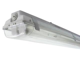 Belka świetlówkowa DUST 236TMK 2x36W szara Elgo