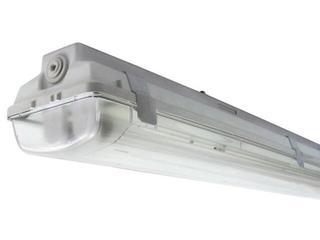 Belka świetlówkowa DUST 236TE 2x36W szara Elgo