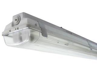 Belka świetlówkowa DUST 258TE 2x58W szara Elgo