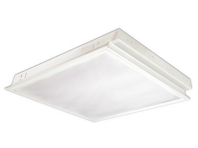 Oprawa świetlówkowa z kloszem OREGA 418 do wbudowania 4x18W klosz mleczny biały Elgo
