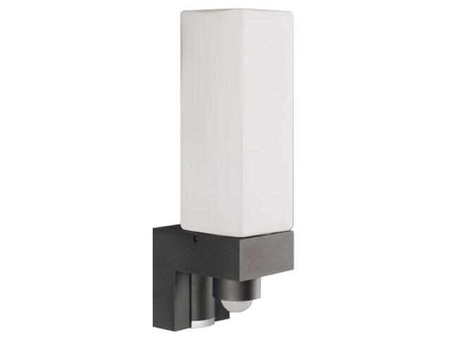 Lampa z czujnikiem ruchu L 266 Cube 2x40W G9 antracyt Steinel