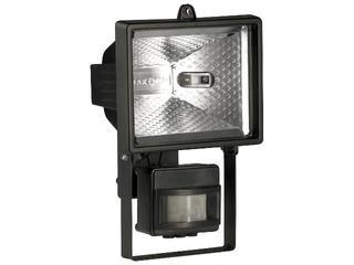 Lampa z czujnikiem ruchu HZD 500W czarna Lena Lighting