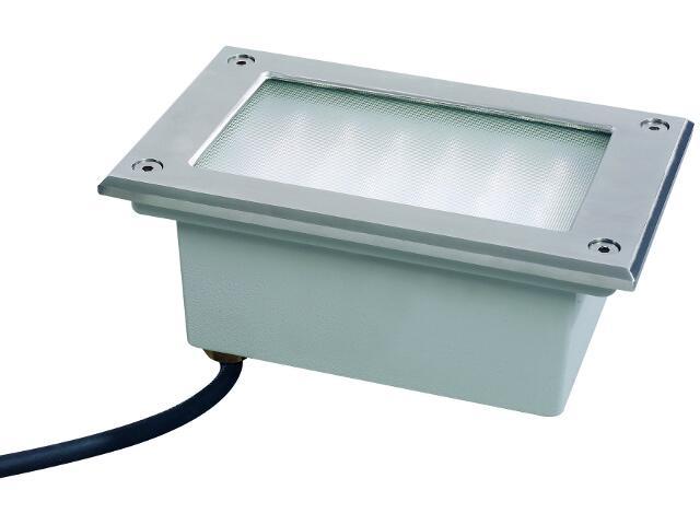 Oprawa najazdowa Profi Line LED wbudowywana w podłogę prostokątna 1x6W stal (1700kg) Paulmann