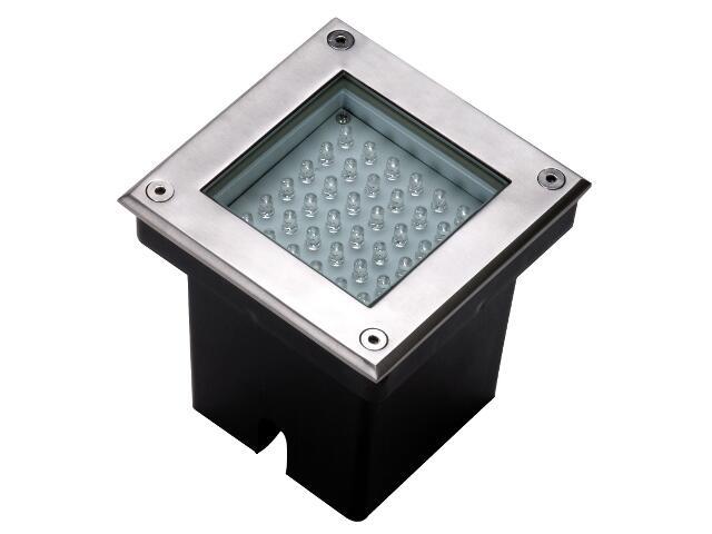 Oprawa najazdowa MODO LED 36D 36xLED kolor światła zielony 230V stalowa Lena Lighting