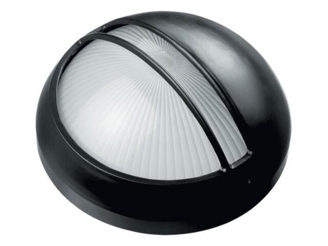 Oprawa podjazdowa OMEGA 1x60W E27 03 15 z przesłoną czarna Lena Lighting