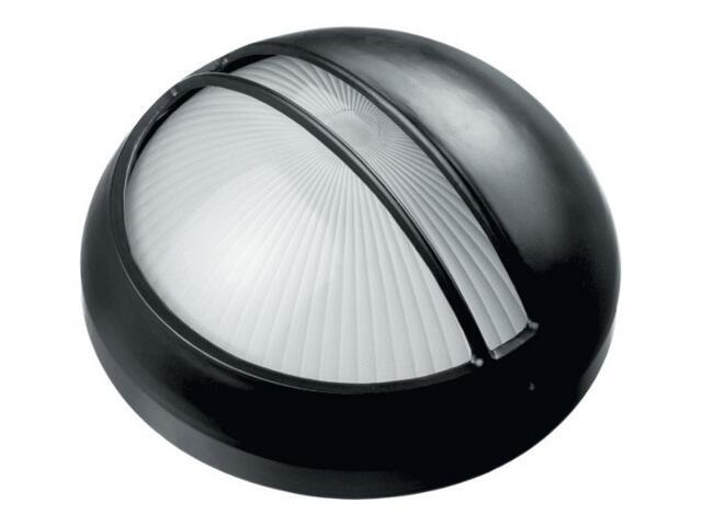 Oprawa podjazdowa OMEGA 1x100W E27 AT 30 15 z przesłoną czarna Lena Lighting