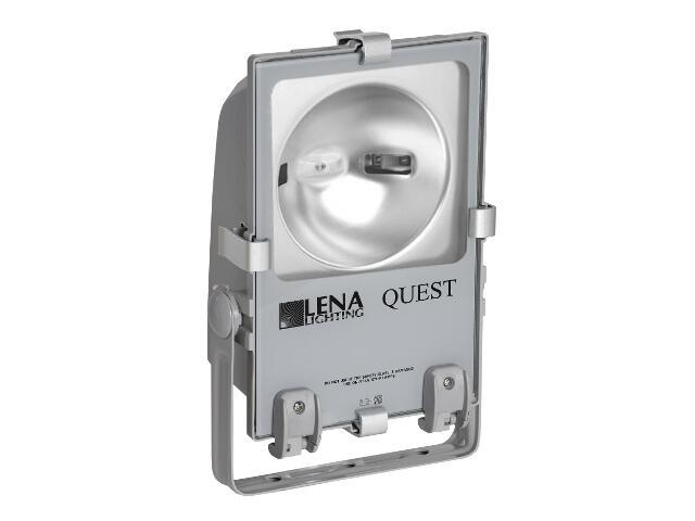 Naświetlacz metahalogenowy QUEST 70W C szary Lena Lighting