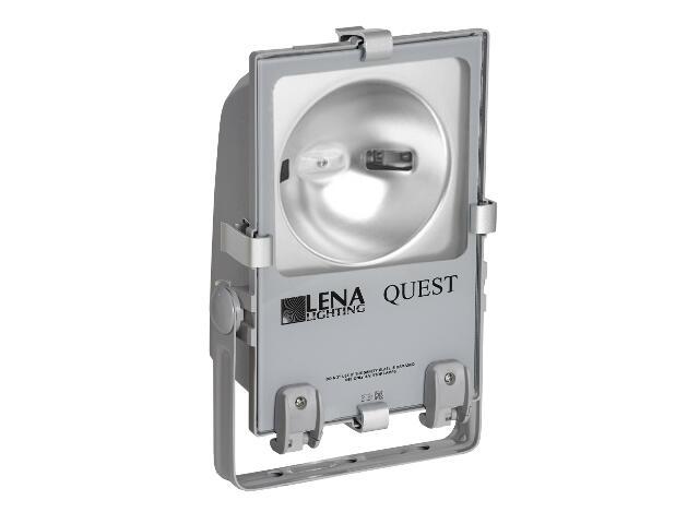 Naświetlacz metahalogenowy QUEST 150W C szary Lena Lighting