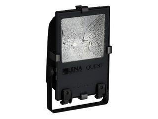 Naświetlacz metahalogenowy QUEST 400W SM czarny Lena Lighting