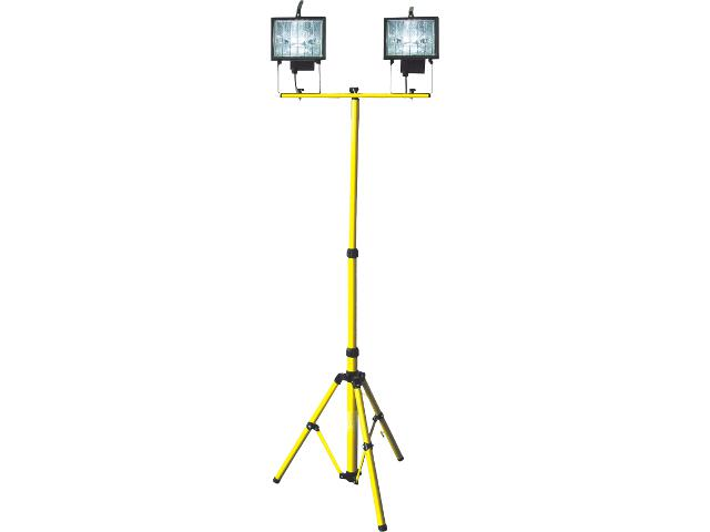 Naświetlacz halogenowy na statywie 2xR7s 400W OS100010 Skan