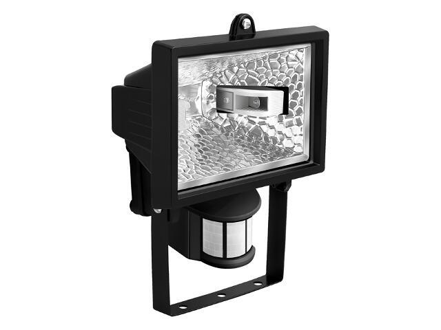 Naświetlacz halogenowy HPC 150W z czujnikiem czarny SMART4light