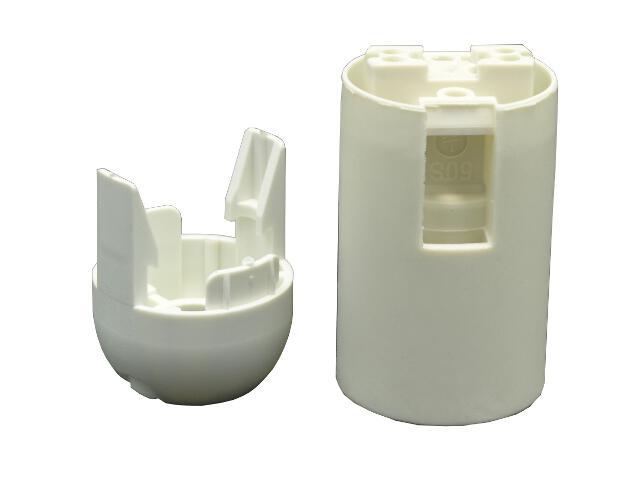 Oprawka plastikowa E14 gładka Arditi