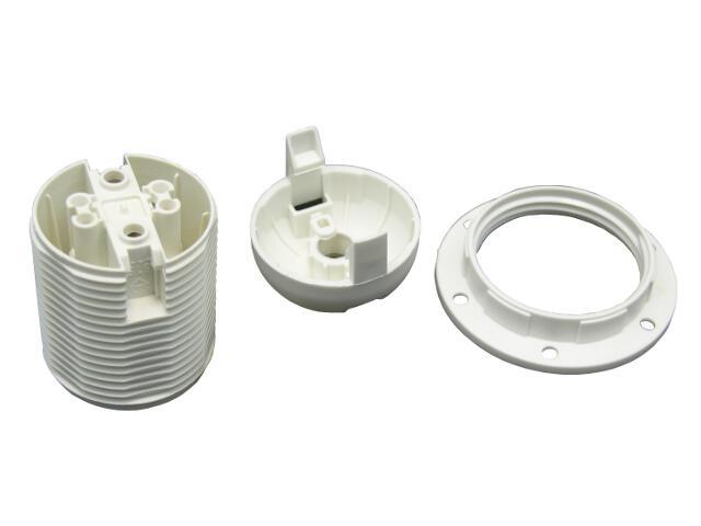 Oprawka plastikowa E27 z pierścieniem Arditi