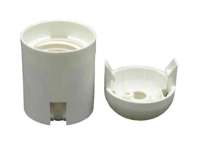 Oprawka plastikowa E27 gładka Arditi
