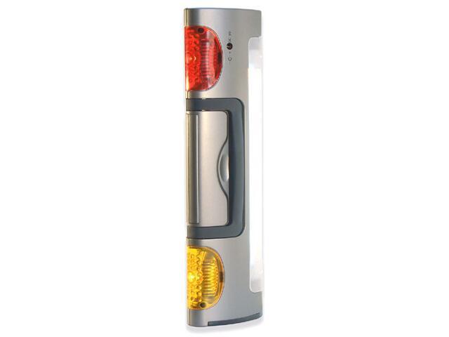 Latarka ręczna ładowalna świetlówka+LED JML8944 MacTronic