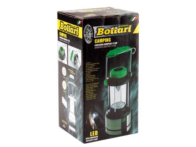 Latarka ręczna Camping LED z kompasem Bottari