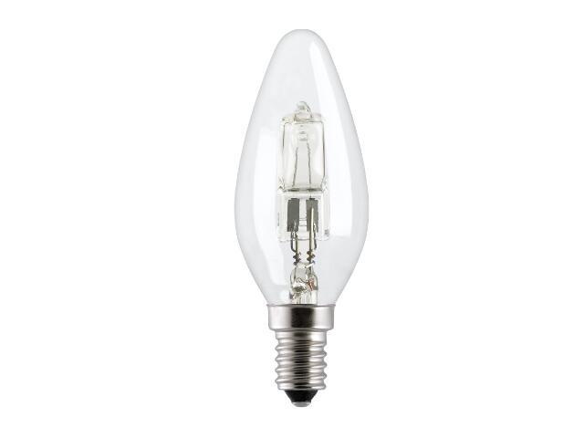 Żarówka halogenowa Energy Efficent HaloCandle TU 28W HALO C/CL/E14 230V GE Lighting