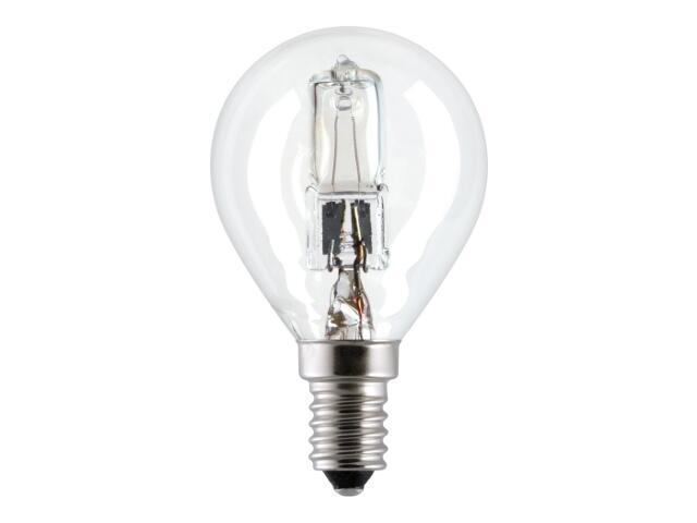 Żarówka halogenowa Energy Efficent HaloSpherical 42W E14 42W HALO S/CL/E14 230V GE Lighting
