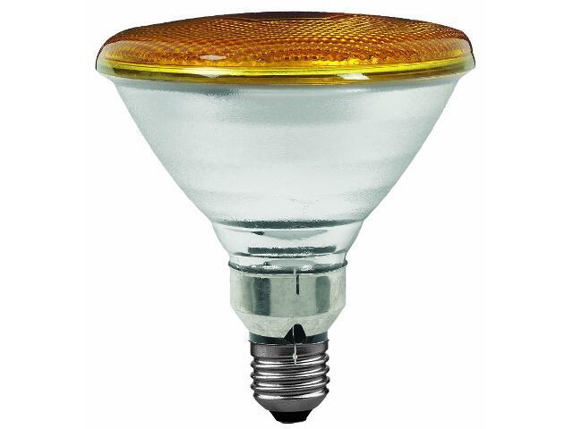 Żarówka halogenowa PAR38 E27 fi 122mm 80W lampa żółta Paulmann