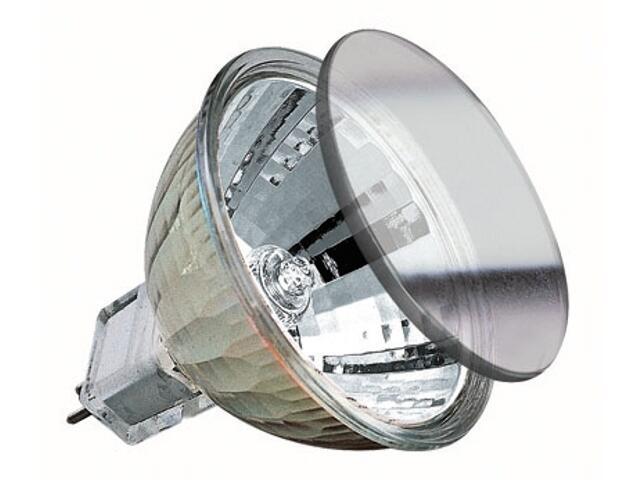 Żarówka halogenowa Halo+ 40W fi 51mm GU5,3 srebrna Paulmann