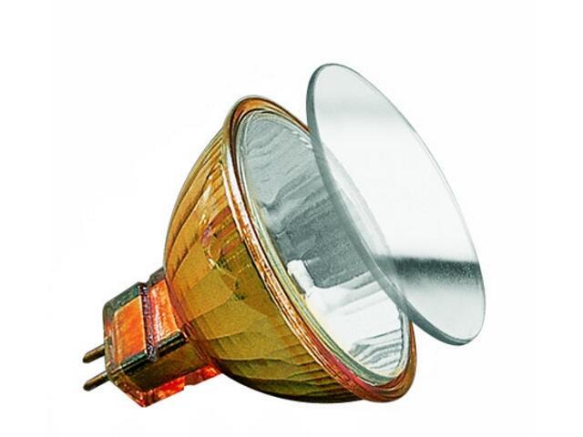 Żarówka halogenowa Akzent 12V, złota, GU4, fi 35mm, 20W Paulmann