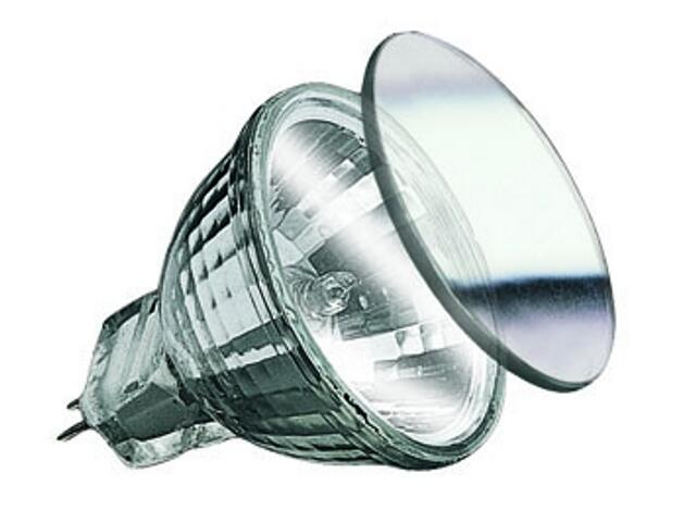 Żarówka halogenowa Security 2000h halogen 12V, srebrna, GU4, fi 35mm, 35W Paulmann